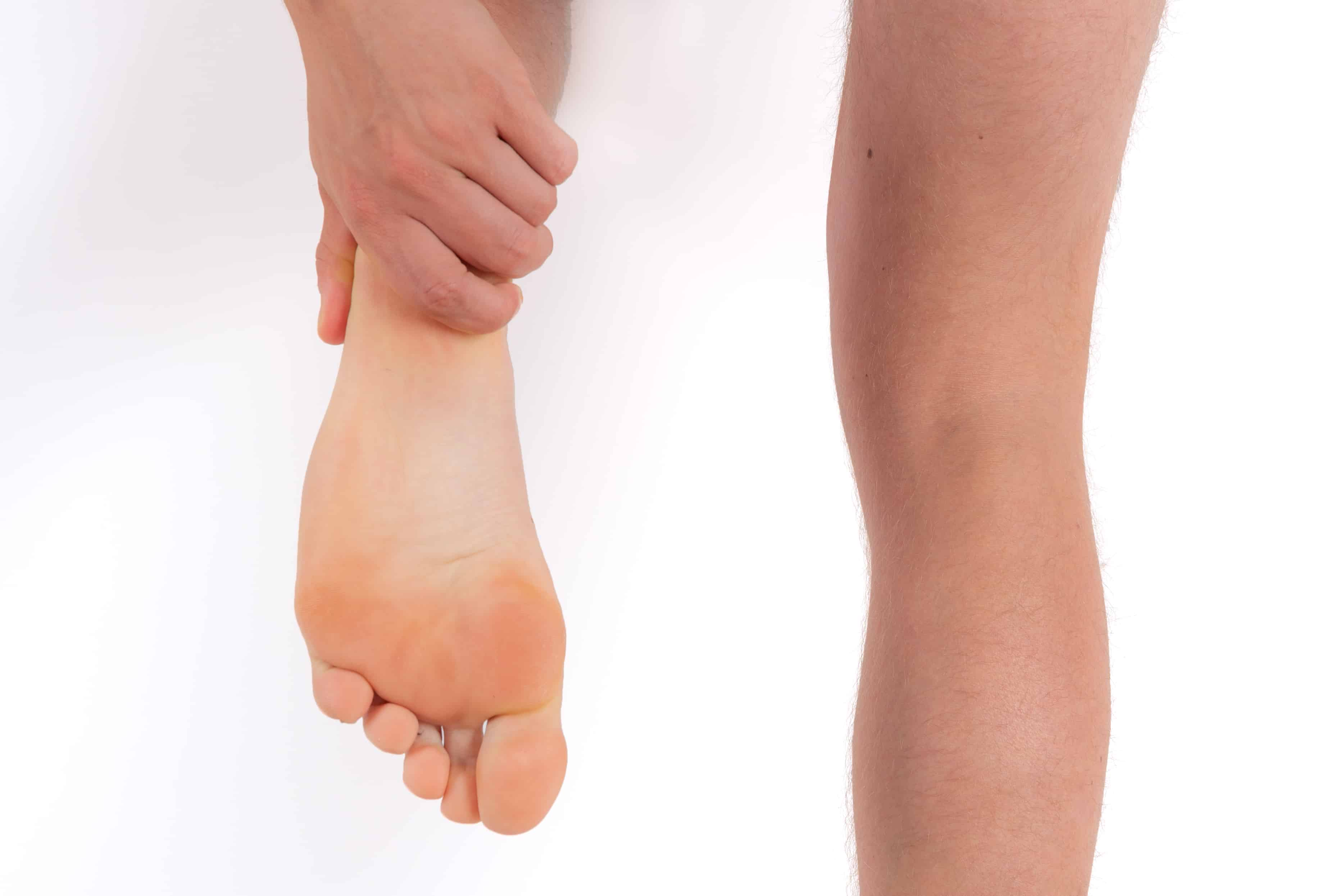 Steunzolen vermoeide voeten